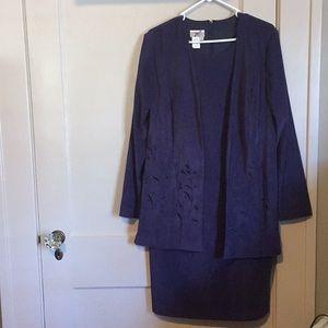 Coat connected dress